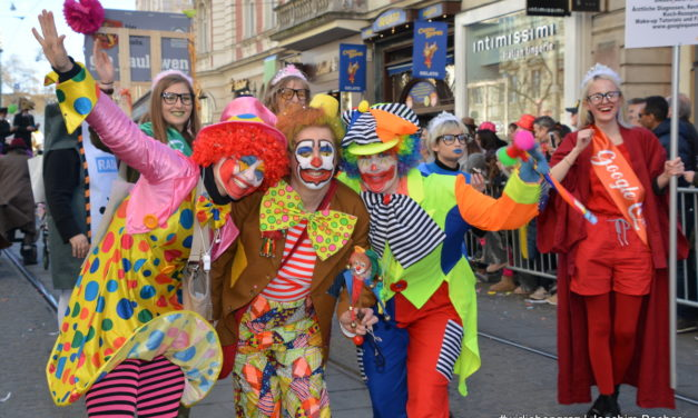 Fotos vom Grazer Faschingszug 2019