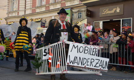 Video vom Grazer Faschingsumzug 2019